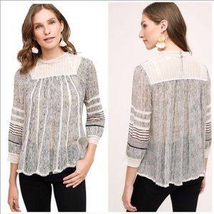 Anthropologie Floreat Blouse